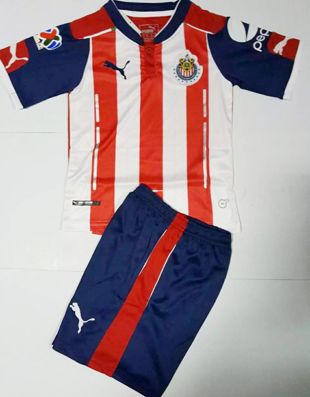 innovative design ec846 763dd Mexico 2016 Chivas Deportivo Guadalajara 16 17 Home Kids ...