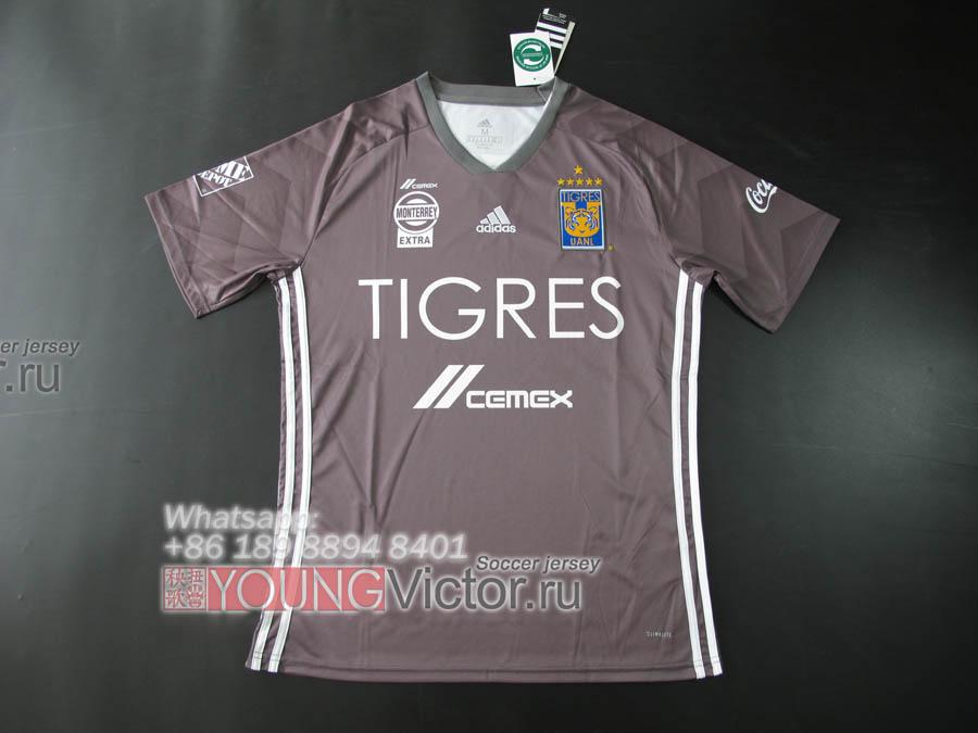 22ae2d384118c foto jersey mÉxico  2018 mexico tigres uanl 18 19 away third grey soccer  jersey