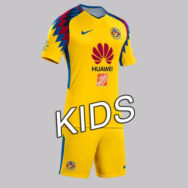 c23ea869a 18/19 Club America 2018 Away third Kids Soccer jersey - $15.00 ...
